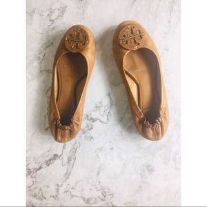 Tory Burch leather flats size 6